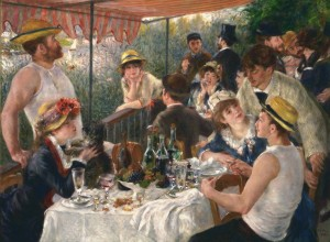Pierre Auguste Renoir - Luncheon at the Boating Party