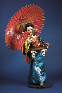 Gustave Vichy Automaton of a Japanese Mask Seller